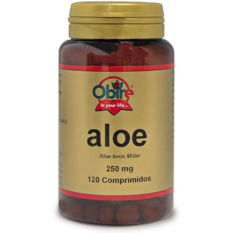 Aloe Vera 500 mg. 120 Tabletas