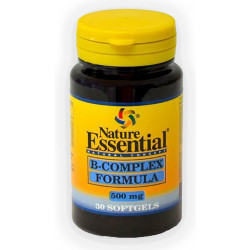 Vitamina B-Complex fórmula 500 mg.