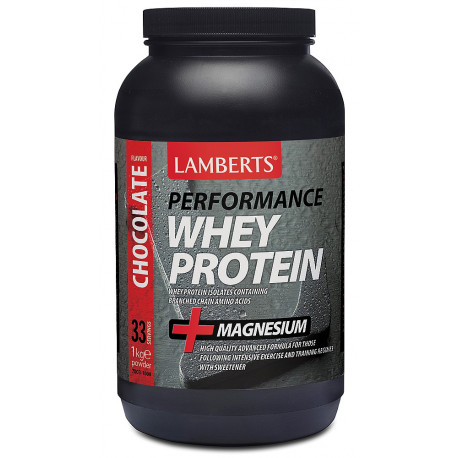Whey Protein Isolate con magnesio 1 Kg. Chocolate