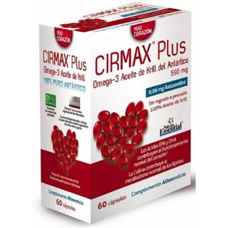 Aceite de krill del Atlántico CIRMAX Plus 590 mg