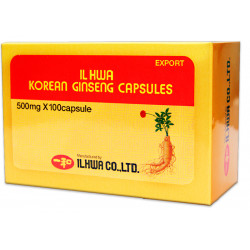 Panax Ginseng coreano IL HWA 100 cap. 500 mg