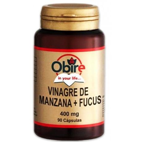 Vinagre de manzana + Fucus 400 mg.