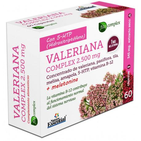 Valeriana en cápsulas (60x400mg.)