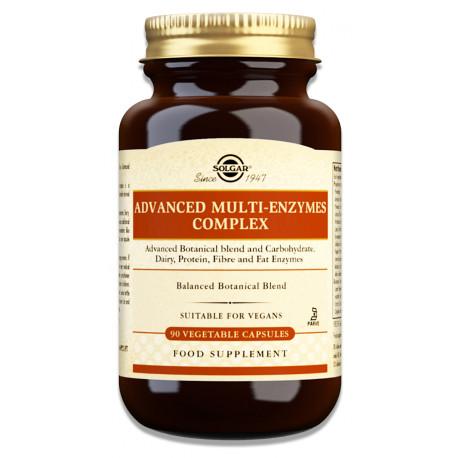 Advanced Multi-Enzymes Complex 90caps Solgar