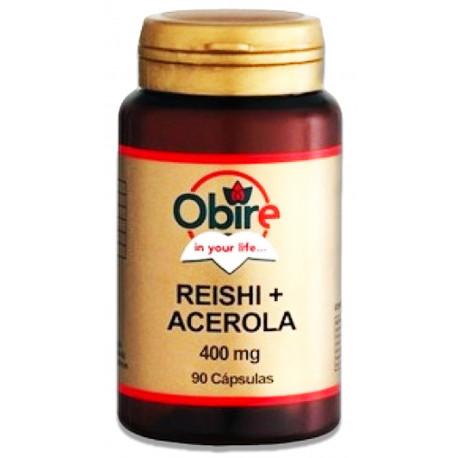 Reishi (micelio) + Acerola 400 mg.