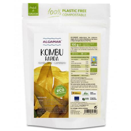 Alga Kombu (Laminaria) BIO 100gr.