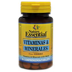 Vitaminas y minerales con hierro