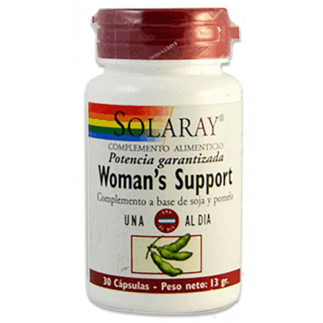 Woman's Support 30 capsulas Solaray