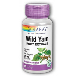 Wild yam 60 capsulas Solaray