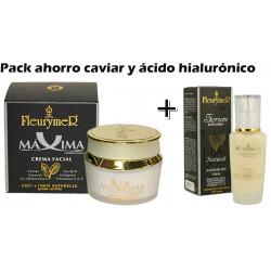 Pack rutina caviar y ácido hialurónico