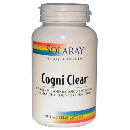 Cogni Clear 90 capsulas Solaray