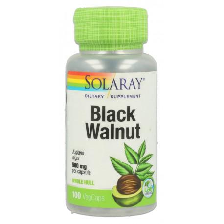 Nogal negro 500 mg 100 cap Solaray
