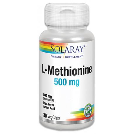 L-Metionina 500Mg 30 capsulas Solaray