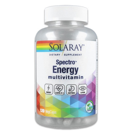 Spectro Energy Multivitaminas 120 capsulas Solaray