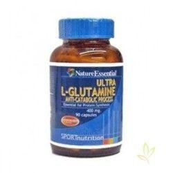 L-GLUTAMINA 400 mg. 90 Cápsulas