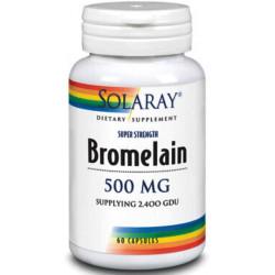 Bromelaina 500mg 60Cap Solaray