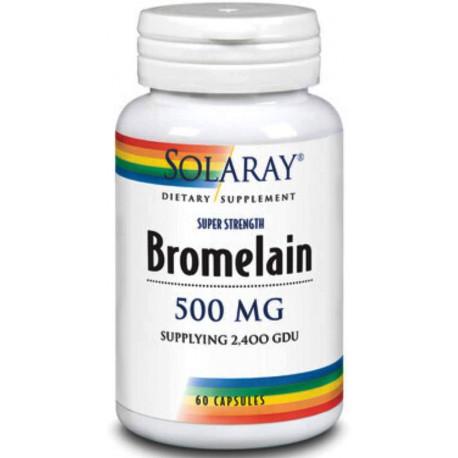 Bromelaina 60Cap Solaray