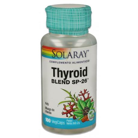 Tyroid Blend kelp 500mg Solaray