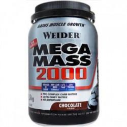Weider Mega Mass 2000 Chocolate 1,5kg.