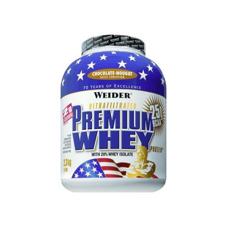 Weider Premium Whey Chocolate 2,3kg.