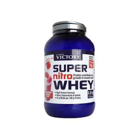 Victory Super Nitro Whey Crema-vainilla 2,2kg