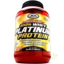 Whey Platinum Protein (Proteina de suero) 2,268 Kg. Fresa