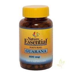 Guarana (Paullinia cupana) 600 mg. 150 Capsulas