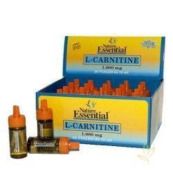 L-Carnitina 1000 mg. con Colina e Inositol (Sabor limón) 20 Viales