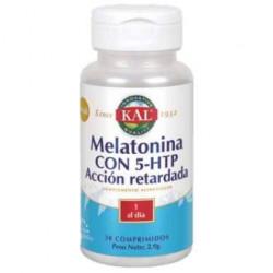 Melatonina 1,9 + 5htp Accion Retard 30cap. Kal