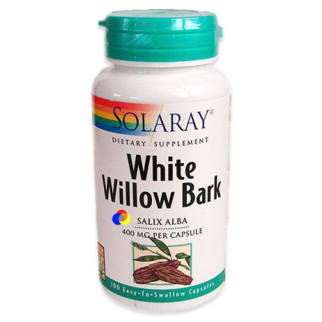 Corteza sauce blanco Solaray 100cap