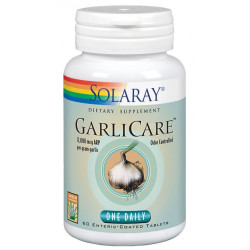 Garlicare 10.000MCG. 60Comp Solaray . AJo desodorizado