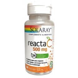 Reacta C 500Mg 60Cap Solara Solaray