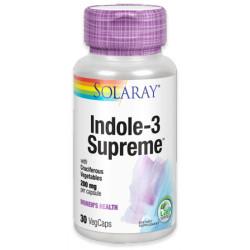 Indole-3 Supreme 30 Cap 200Mg Solaray