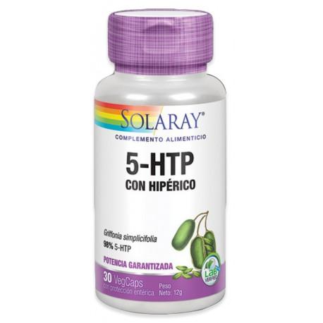 5Htp con Hiperico St John S Wort 30 capsulas Solaray