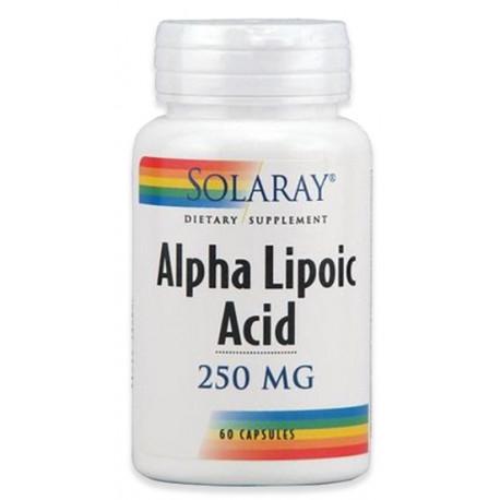 ácido Alfa Lipoico 250mg Solaray