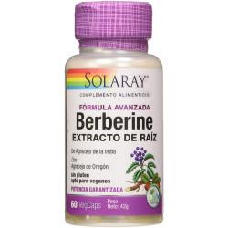 Berberine Extracto de raíz 60cap Solaray