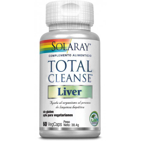Total CLeanse Liver 60 vcaps Solaray