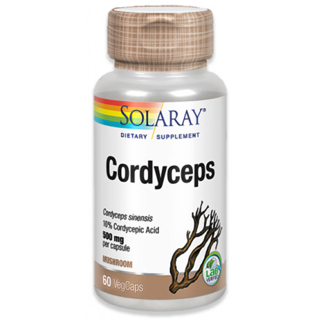 Cordyceps 520 mg 60 cap Solaray