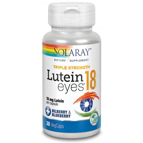 Lutein Eyes 18 mg 30 cap Solaray