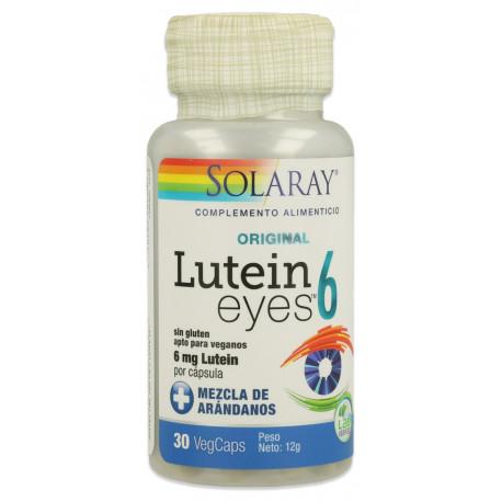Lutein Eyes 6Mg 30 cap Solaray