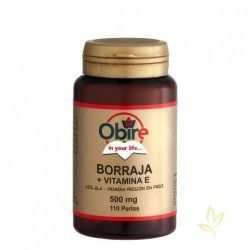 Borraja + Vitamina E 710 mg. 110 perlas
