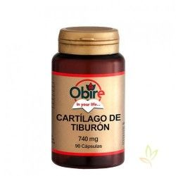 Cartilago de Tiburón 740mg.