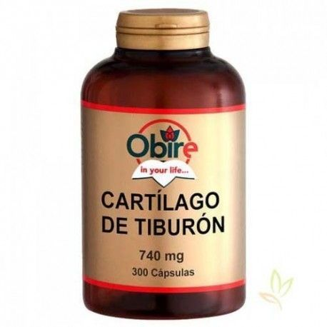 Cartilago de tiburon 740 mg.