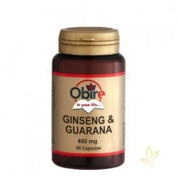 Ginseng + Guarana 400 mg.