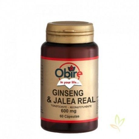 Ginseng + Jalea real 600 mg.