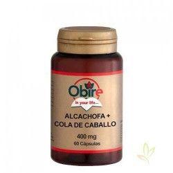 Alcachofa + Cola de caballo 430 mg. 60 cáps.
