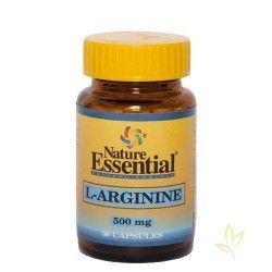 L-Arginina 500 mg. 50 cápsulas