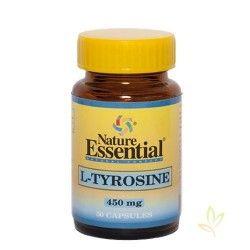 L-Tirosina 450 mg. 50 Cápsulas