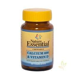 Calcio 500 mg. y vitamina D