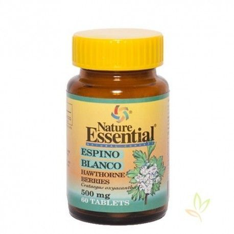 Espino blanco (Crategus oxyacantha) 500 mg.